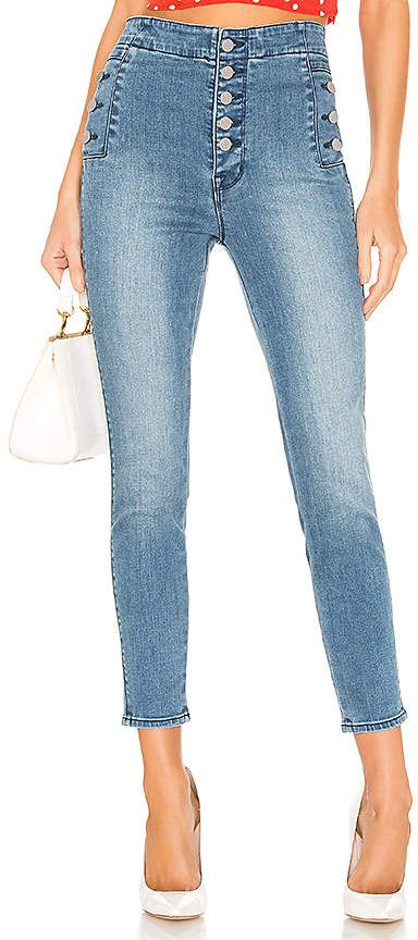 J Brand Natasha Sky High Crop Skinny.