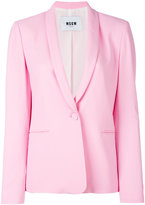 MSGM shawl lapel blazer - women - Polyester/Acetate/Viscose - 44