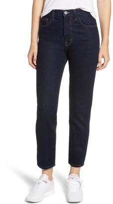Current/Elliott The Vintage High Waist Crop Slim Jeans