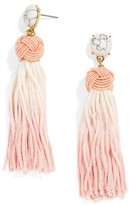 BaubleBar Women's Sarina Ombre Tassel Earrings