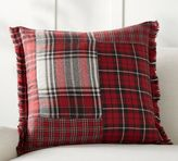Pottery Barn Landon Patchwork Plaid Pillow Cover