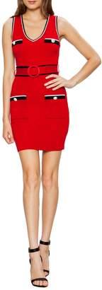Jealous Tomato Plunge Neck Knit Tank Dress