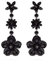 Isabel Marant Aloha flower and bead-embellished earrings