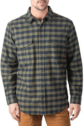 Men's Walls Wagu Plaid Heavyweight Brushed Flannel Work Shirt