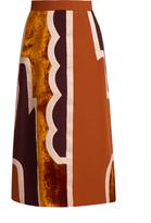 Roksanda Takuya patchwork skirt