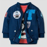 Thomas the Tank Engine HIT® Toddler Boys' Bomber Jacket and Long Sleeve Tee Set - Navy 4T