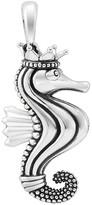 "Lagos Sterling Silver Rare Wonders Seahorse Pendant Necklace, 34"""