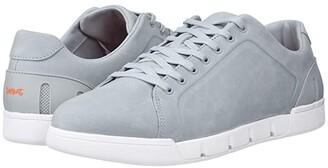 Swims Breeze Tennis Leather (Quarry/White) Men's Shoes