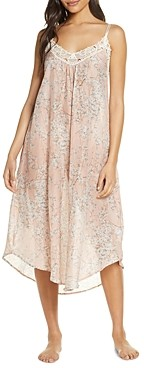 Papinelle Cherry Blossom Print Maxi Nightgown