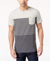 Superdry Men's Graduated Stripe-Print Pocket T-Shirt