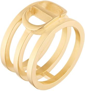Christian Dior Montaigne 3-Row Ring, Size 52-55