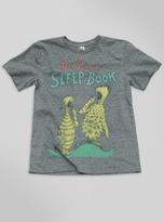 Junk Food Clothing Kids Boys Dr. Seuss Sleep Book Tee-steel-xs