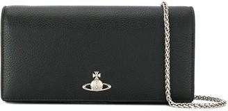 Vivienne Westwood Orb plaque chain wallet