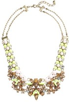 BaubleBar Women's Azurine Bib Necklace