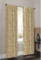 Bed Bath & Beyond WrapAround Moore Print Window Curtain Panel Pair