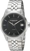 Raymond Weil Men's 'Freelancer' Swiss Automatic Stainless Steel Dress Watch, Color:Silver-Toned