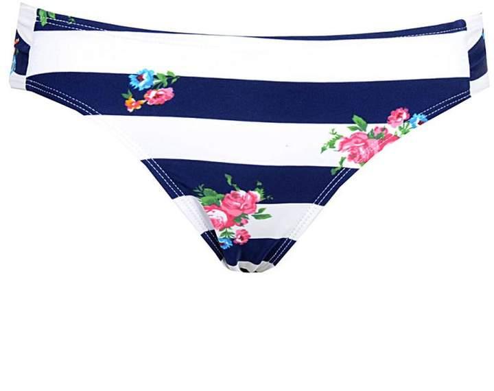 Select Fashion Stripe & Floral Print Bikini Bottom - Womens - Select - size 18