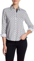 Foxcroft Interlocking Diamonds Shirt (Petite)