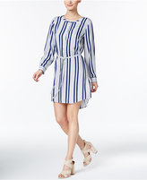 Vince Camuto TWO by Vince Striped High-Low Shirtdress