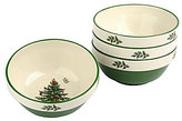 Spode Christmas Tree Stacking Bowls, Set of 4
