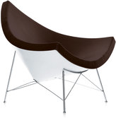 Vitra Coconut Chair With Leather Chocolate