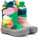 Stella McCartney splash paint effect snow boots