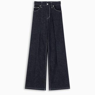 Chloé Blue wide-leg jeans