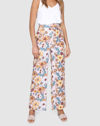 Lost in Lunar - Women's Multi Dress Pants - Dixie Pants - Size One Size, 6 at The Iconic