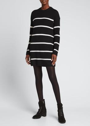 Alice + Olivia Lennie Striped Mini Tunic Dress
