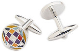 Murano Kalidescope Cuff Links
