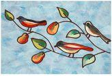 Liora Manné Trans Ocean Imports Visions IV Song Birds Doormat - 20'' x 29 1/2''
