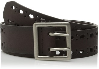 Relics Women's Double Prong Perforated Belt