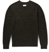 Steven Alan - Mélange Wool And Cashmere-blend Sweater