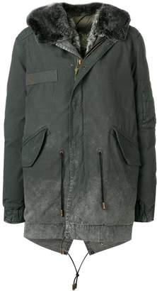 Mr & Mrs Italy printed hooded jacket