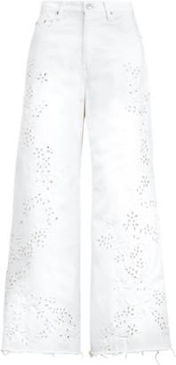Ralph Lauren BB Wide-Leg Crop Jean