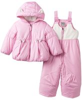 ZeroXposur Baby Girl Dottie Jacket & Bib Snow Pants Snowsuit Set