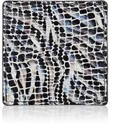 Barneys New York Mosaic-Embossed Leather Coaster
