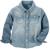 Osh Kosh Toddler Boy Chambray Denim Button-Down Shirt