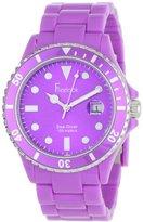 Freelook Women's HA1438-2 Sea Diver Purple Analog Sport Watch