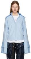 Marques Almeida Blue Double Sleeve Shirt