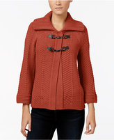 JM Collection Toggle Cardigan, Only at Macy's