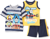 Children's Apparel Network Thomas & Friends Yellow Tank Set - Infant