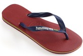 Havaianas Men's Flip-Flop Sandals - Brazil Logo