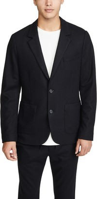 Vince Bucket Pocket Unstructured Blazer