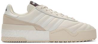 Adidas Originals By Alexander Wang White B-Ball Soccer Sneakers