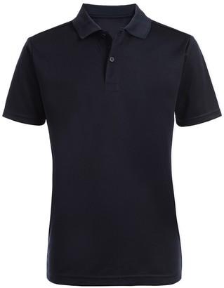 Nautica Short Sleeve Husky Performance Polo Uniform Shirt (Big Boys)