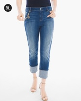 Chico's Turned-Cuff Jeans