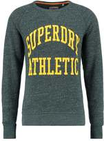 Superdry Tigers Athletics Sweatshirt Enamel Green