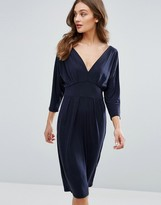 Only Greater Bat Wing Midi Dress