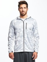 Old Navy Go-Dry Reflective-Trim Hoodie for Men